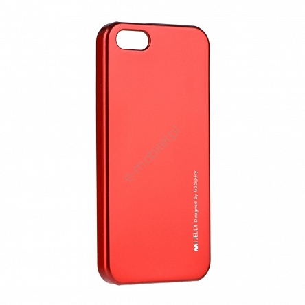 Etui Mercury iJelly Apple iPhone 5/5S/SE czerwone