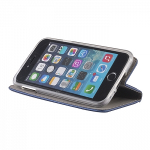 Etui Smart Magnet Apple iPhone 5/5S/SE granatowe