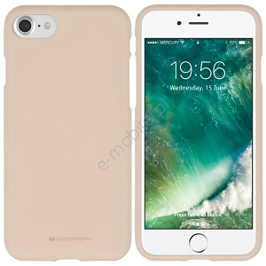 Etui Mercury SoftJelly Apple iPhone 6/6s beżowe