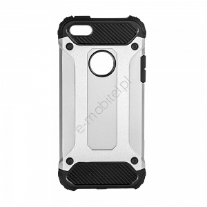 Etui Armor Case Apple iPhone 5/5S/SE srebrne