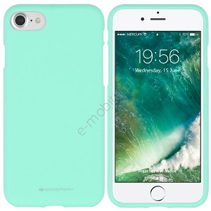 Etui Mercury SoftJelly Apple iPhone 6/6s Plus miętowe