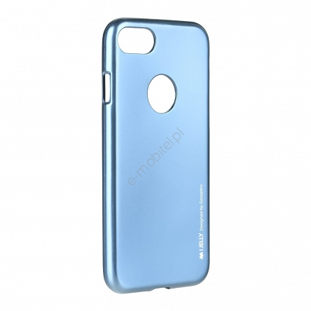 Etui Mercury iJelly Apple iPhone 6/6S niebieskie
