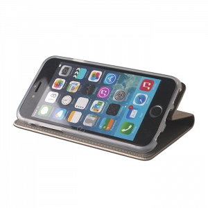 Etui Smart Magnet Apple iPhone 5/5S/SE złote